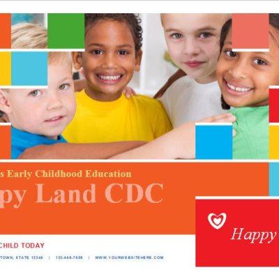 Child Care Brochure Template 11 Child Care Owner – Preschool Brochure Template