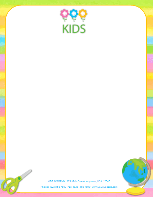 CCO-Stationery-Letterhead-Template-23 Day Care Letterhead Templates on day care ad templates, day care contract templates, day care flyer templates, day care weekly schedule template, day care invoice templates, day care marketing, day care window graphics, day care proposal templates, day care logos, day care certificate templates, day care business templates, day care newsletter templates, day care brochures, day care profit and loss statement template,