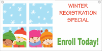 Winter Special Banner Template 5 - Child Care Owner