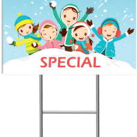 Winter Special Banner Template 4 - Child Care Owner