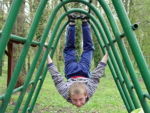 elem boy climbing