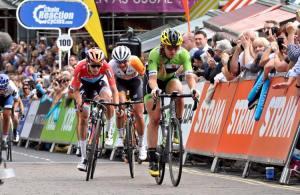 Alison racing