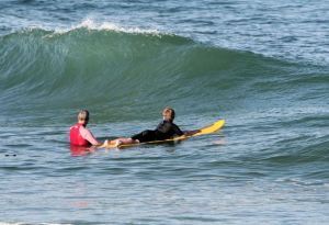 sensory surfers love the big wave