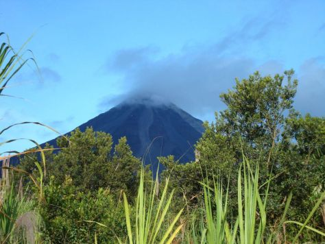 The Arenal Volcano in La Fortuna, Costa Rica motion sickness