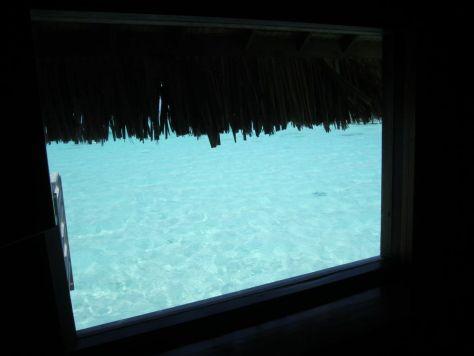 Intercontinental Le Moana Bora Bora overwater bungalow