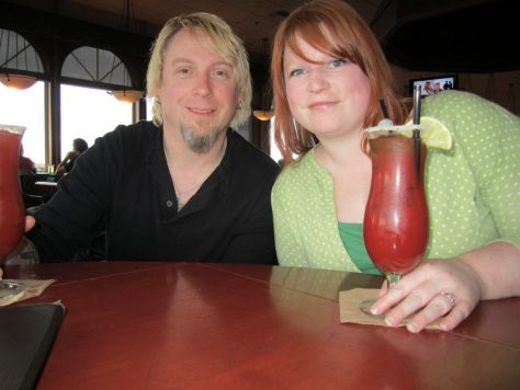 Bloody Marys at Mariahs Restaurant Ocean Shores WA