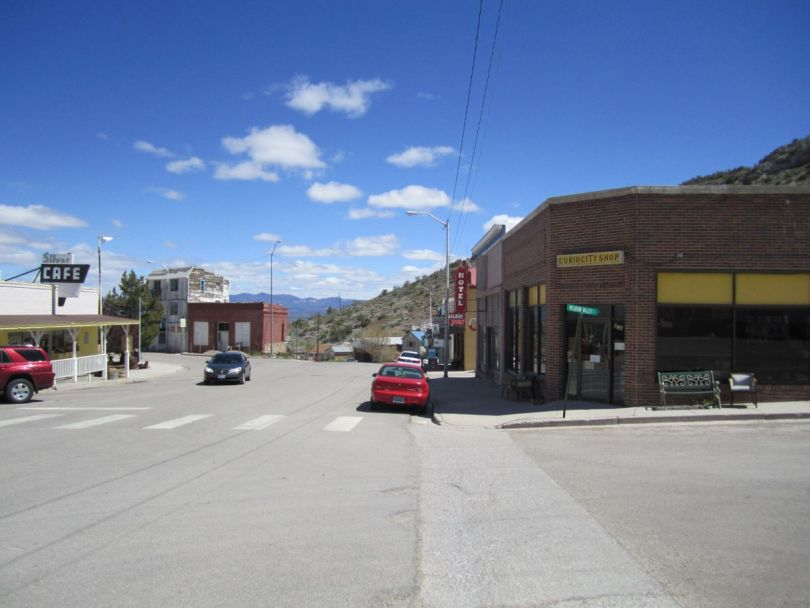 Old mining town of Pioche, Nevada
