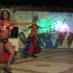 """cultural"" Latin American dance show for the tourists at Sanctuary Cap Cana Resort, Dominican Republic"