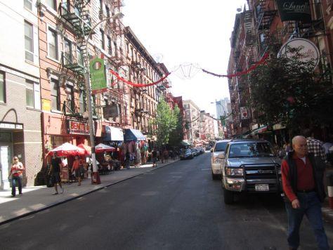 Little Italy New York City New York City