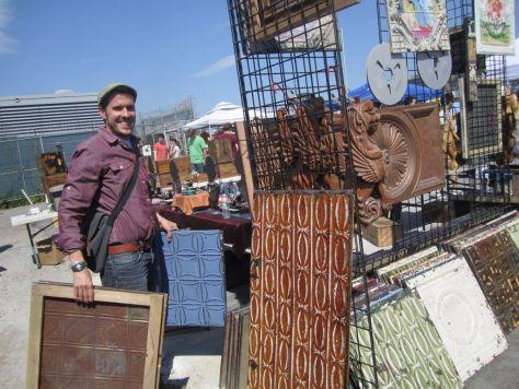 Williamsburg flea market Brooklyn