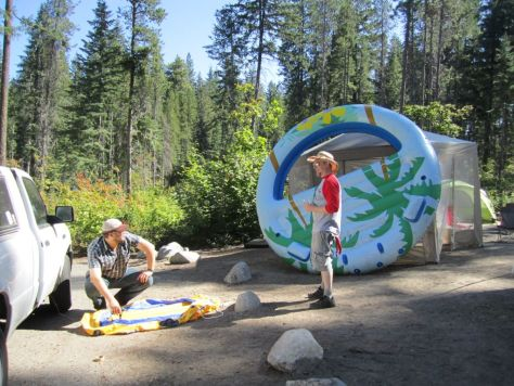 Camping at Lake Wenatchee State Park