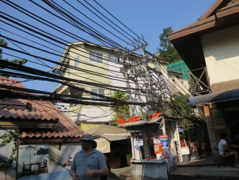 power line clusterfuck Phi Phi Don Thailand 440