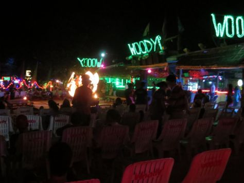 Woody's fire show Phi Phi Thailand 447