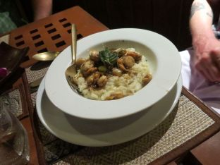 scallop risotto le grand bleu phi phi don Thailand