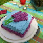 Culinary Adventures: Boozy Lavender Lemon Cake Recipe