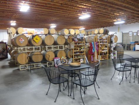 Tanjuli Winery wine tasting in Yakima Valley