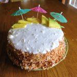 Culinary Adventures: Pina Colada Cake