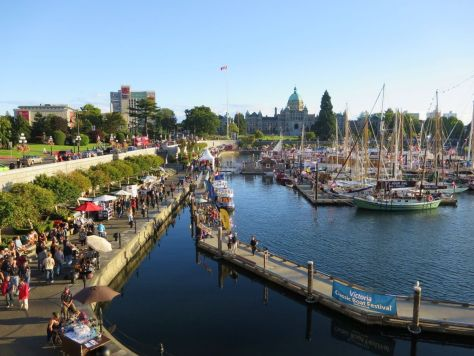 Victoria Harbor Victoria BC