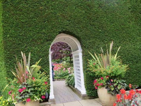 Italian Garden Butchart Gardens Victoria BC