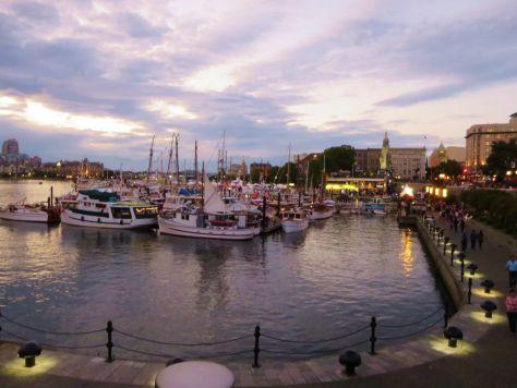 Victoria BC Harbor
