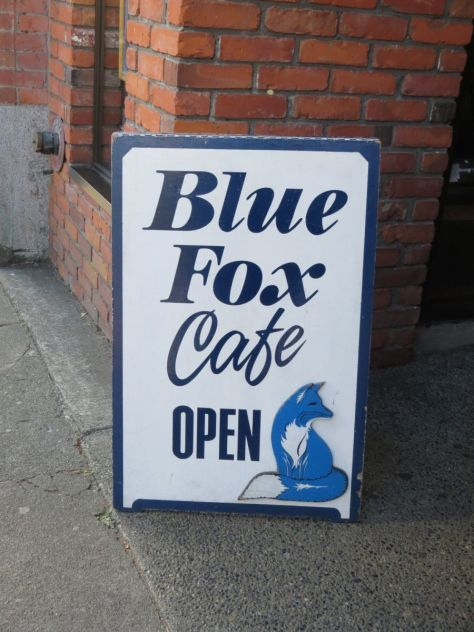Blue Fox Cafe Victoria BC