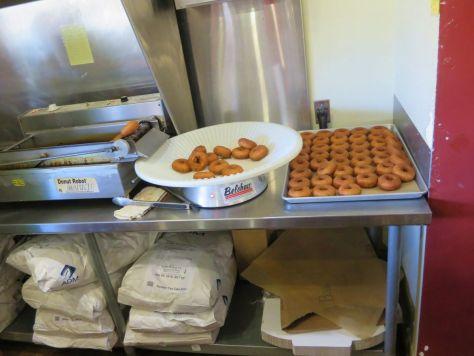 Doughnuts at Orondo Cider Works