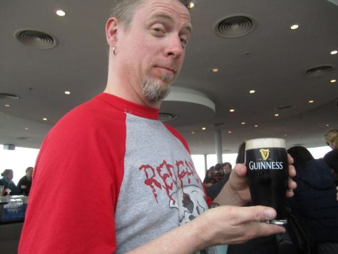 Paddy at the Guiness Storehouse, Dublin