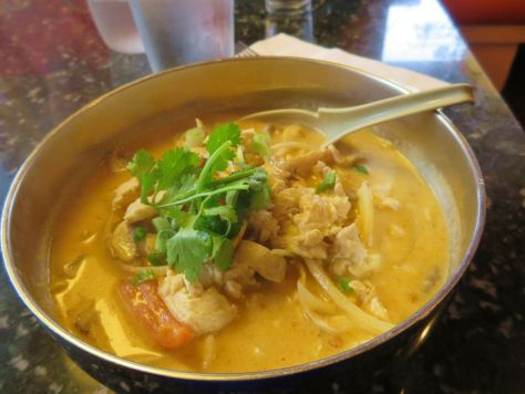 House of Noodle Albany Tom Kha Chicken Noodle Soup