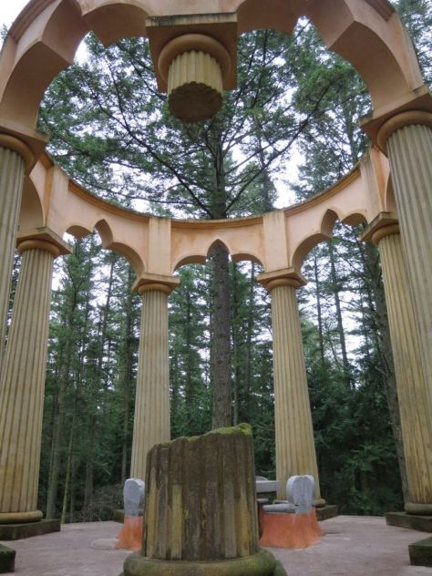 Mausoleum at Roche Harbor