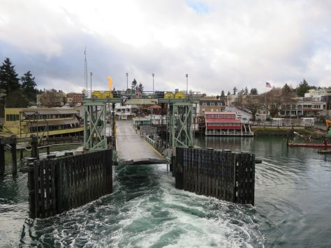 Friday Harbor ferry dock