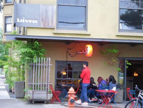 Biwa Japanese restaurant Portland