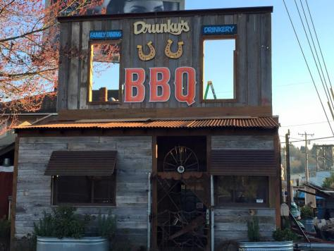 Drunky's Two Shoe BBQ Seattle