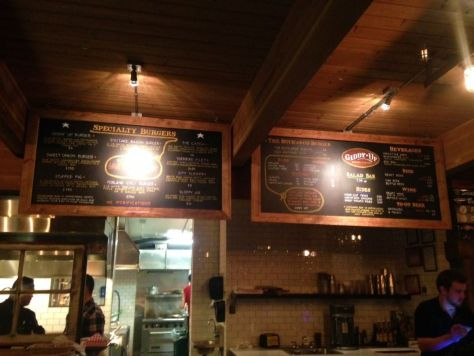 Giddy-Up Burgers and Greens Frelard Seattle