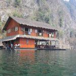 Floating Lake House Safari in Thailand