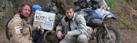 Travel Shows Ewan McGregor and Charley Boorman in Long Way Around