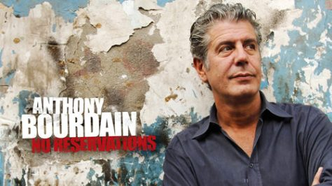 Travel shows Anthony Bourdain No Reservations