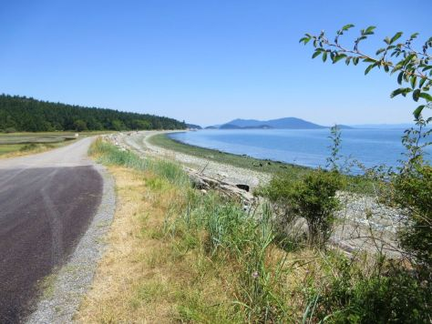 Lopez Island --End of Sperry Rd