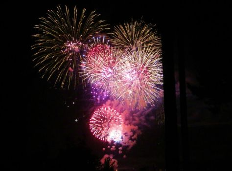 Lopez Island Fourth of July fireworks