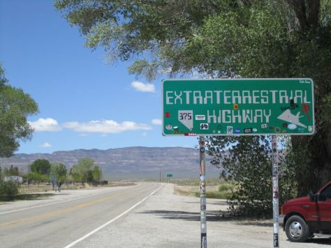 Weird things we saw in Nevada: Extraterrstrial Highway