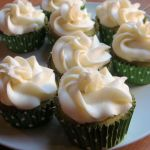 Culinary Adventures: Green Tea Cupcakes with Lychee Frosting