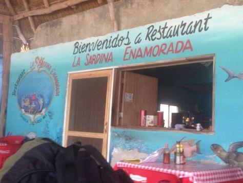La Sardina Enamorada restaurant, Chiquila, Mexico