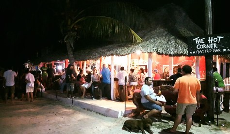 The Hot Corner Bar, Isla Holbox. Image from https://www.facebook.com/The-Hot-Corner-772690436196916/