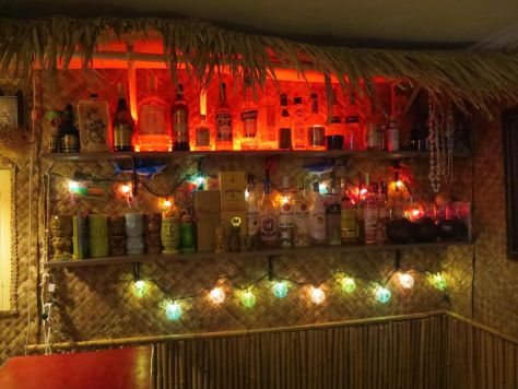 how to build a basement tiki bar
