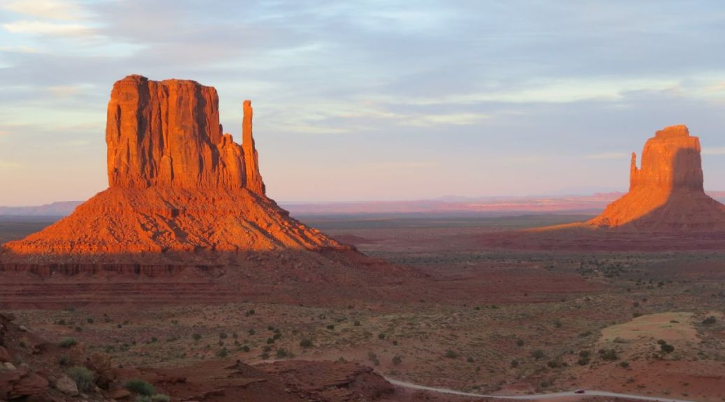 Monument Valley Sunset from The View Hotel road trip