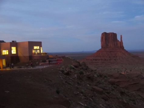 Sunset from The View Hotel Monument Valley
