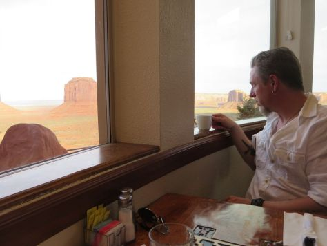 The View Hotel restaurant, Monument Valley
