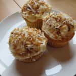 Culinary Adventures: Easy Pineapple Cupcakes with Spicy Coconut Topping