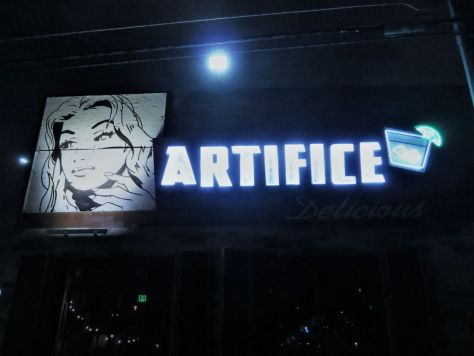 Artifice Bar, downtown Las Vegas