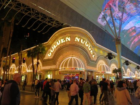 The Golden Nugget, downtown Las Vegas