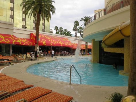 Pool at Golden Nugget, downtown Las Vegas